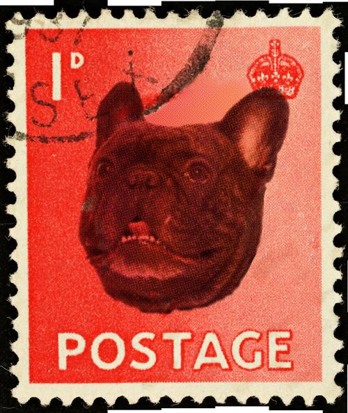 Hond postzegel
